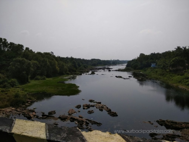 A small river on the way from Bangalore to Coorg on NH75