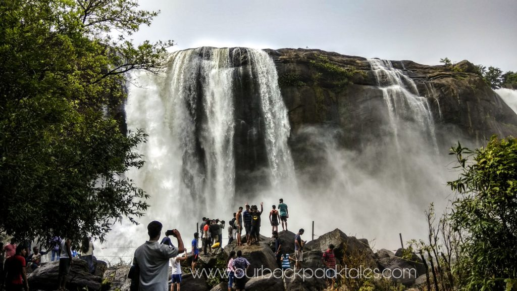 Athirapally waterfalls 2 our backpack tales